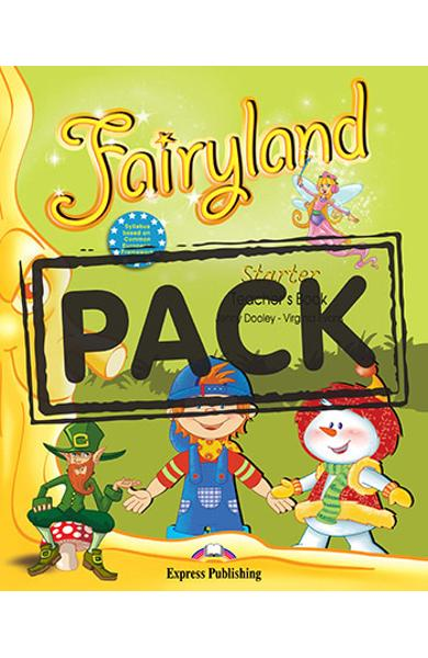 Curs limba engleza Fairyland Starter Pachetul elevului (Manual + ieBook)