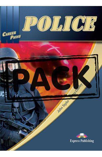 Curs limba engleză Career Paths Police - Pachetul elevului