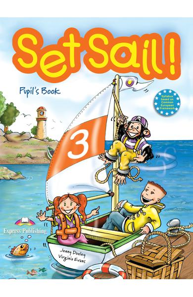 Curs limba engleză Set Sail 3 Manualul elevului