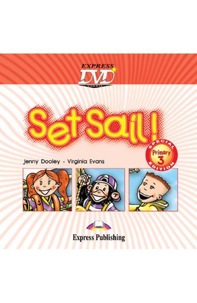 Curs limba engleză Set Sail 3 DVD