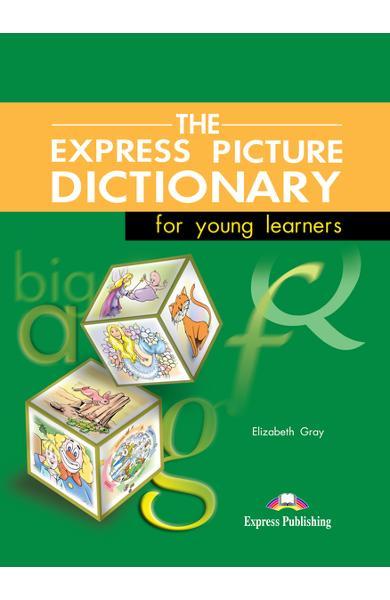 Dicționar ilustrat The Express Picture Dictionary Manualul elevului