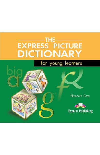 Dicționar ilustrat The Express Picture Dictionary Audio CD (set 3 CD)