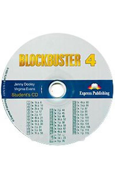 Curs limba engleză Blockbuster 4 Audio CD elev