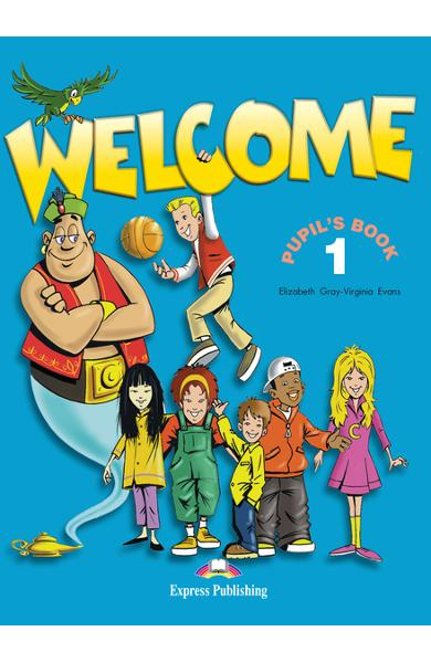 Curs limba engleză Welcome 1 Manualul elevului 978-1-903128-00-8