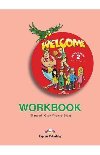 Curs limba engleză Welcome 2 Caietul elevului 978-1-903128-20-6