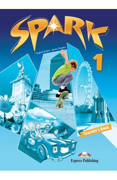 Curs limba engleză Spark 1 Monstertrackers Manualul profesorului 978-1-84974-676-2