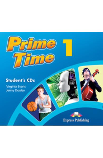 Curs Lb. Engleza - Prime Time 1 Audio CD Elev