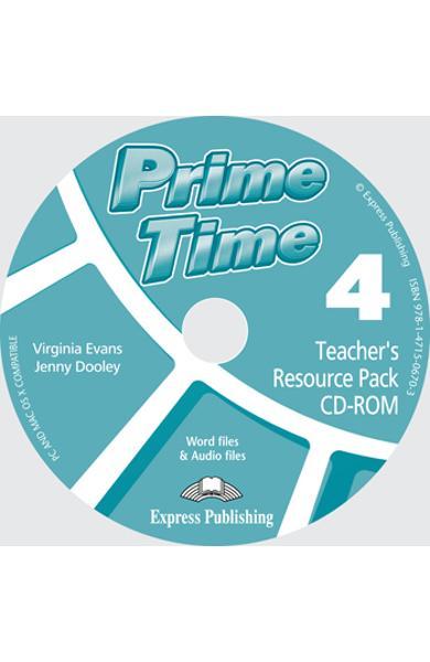 Curs limba engleză Prime Time 4 Material adiţional pentru profesor CD-ROM