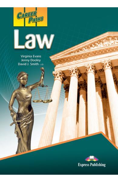 Curs limba engleză Career Paths Law - Manualul elevului
