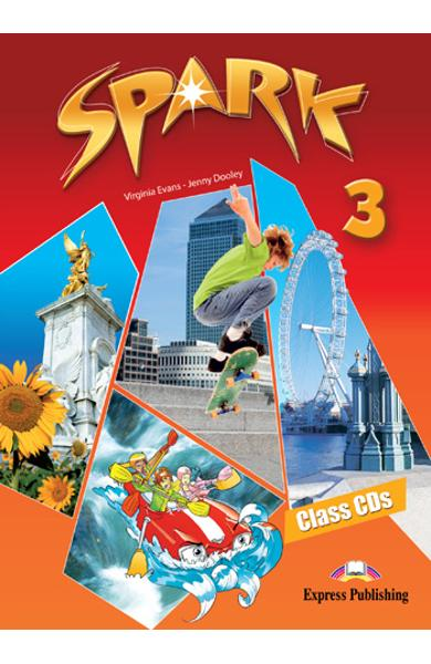 Curs limba engleză Spark 3 Monstertrackers Audio CD ( Set de 4 CD-uri ) 978-1-84974-698-4