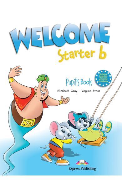 Curs limba engleză Welcome Starter B Manualul elevului 978-1-84466-872-4