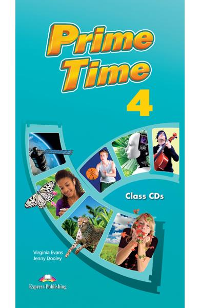 Curs limba engleză Prime Time 4 Audio CD (set 7 CD)
