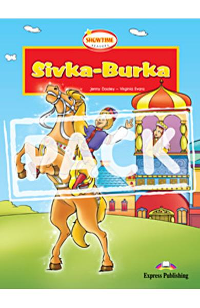 Literatura adaptata pt. copii Sivka Burka - set cu multi-rom (carte + multi-rom) 978-0-85777-228-2