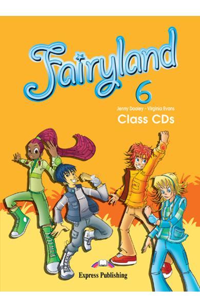 Curs limba engleză Fairyland 6 Audio CD (set 4 CD)