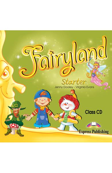 Curs limba engleza Fairyland Starter Audio CD la manual