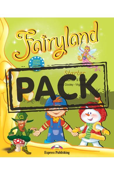Curs limba engleza Fairyland Starter Manualul Profesorului cu postere
