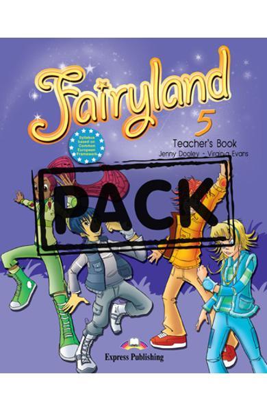 Curs limba engleză Fairyland 5 Manualul profesorului cu postere