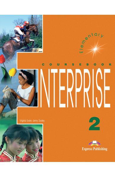 Curs limba engleză Enterprise 2 Manualul elevului 978-1-84216-105-0