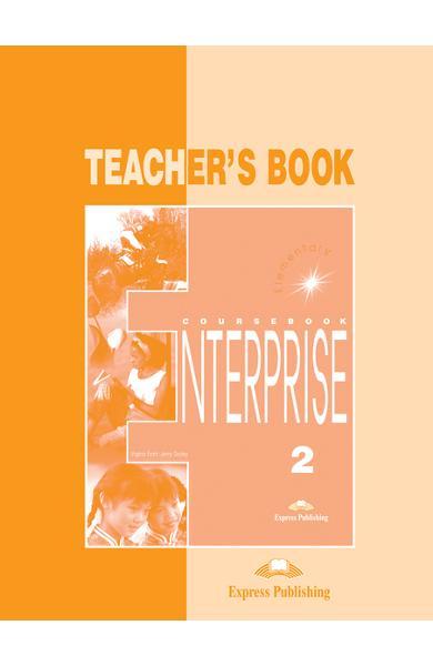 Curs limba engleză Enterprise 2 Manualul profesorului 978-1-84216-106-7