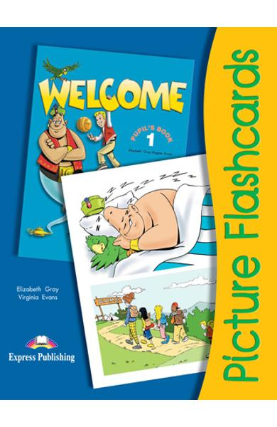 Curs Lb. Engleza - Welcome 1 Flashcards Set 1 978-1-84466-040-7
