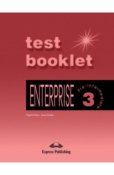 Curs limba engleză Enterprise 3 Teste 978-1-84216-678-9