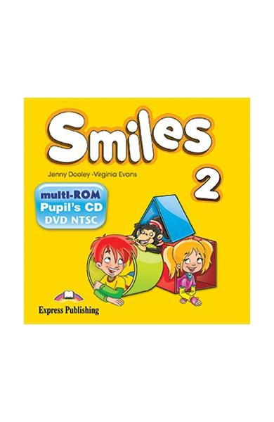 Curs Lb. Engleza Smiles 2 Multi-Rom