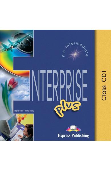 Curs limba engleză Enterprise Plus Audio CD (set 5 CD) 978-1-84325-823-0