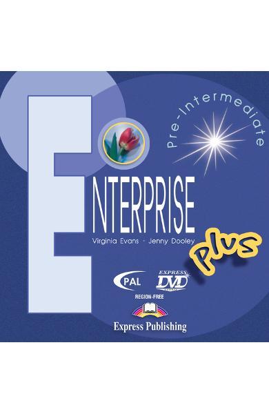 Curs limba engleză Enterprise Plus DVD 978-1-84558-035-3