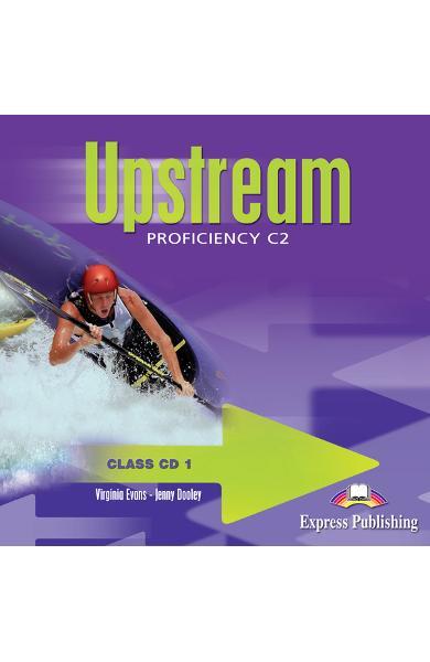 Curs limba engleză Upstream Proficiency Audio CD la manual (set 6 CD) editie veche