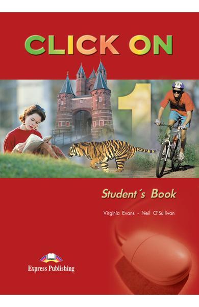 Curs limba engleză Click On 1 Manualul elevului 978-1-84216-682-6