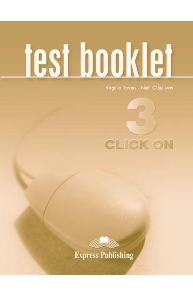Curs limba engleză Click On 3 Teste 978-1-84216-726-7