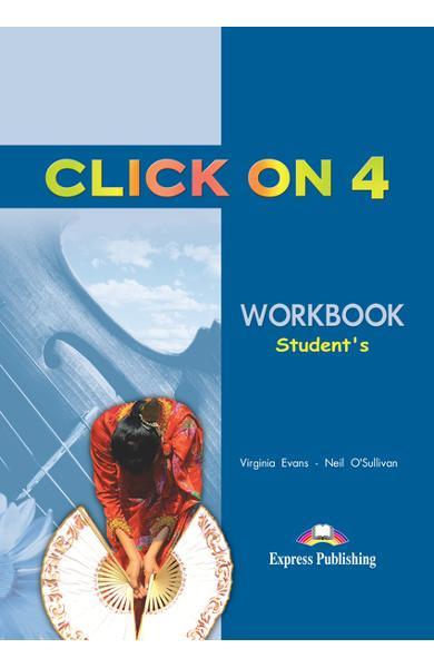 Curs limba engleză Click On 4 Caietul elevului 978-1-84325-783-7