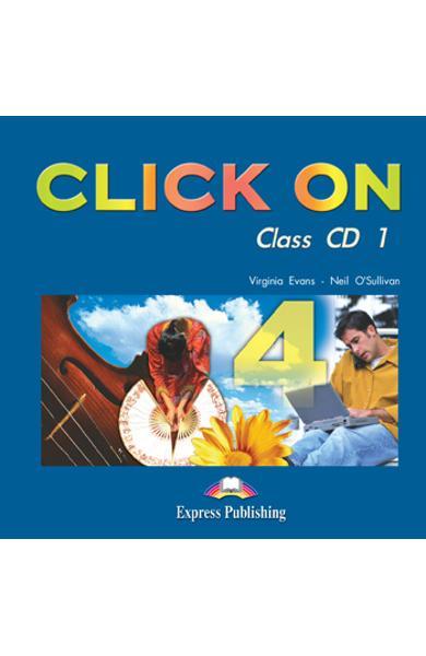 Curs limba engleză Click On 4 Audio CD (set 6 CD) 978-1-84325-835-3