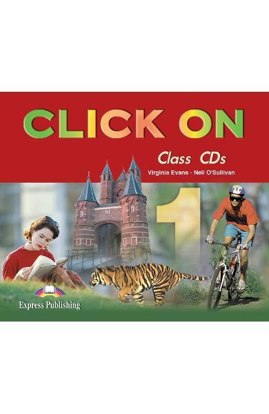Curs limba engleză Click On 1 Audio CD (set 4 CD) 978-1-84216-690-1