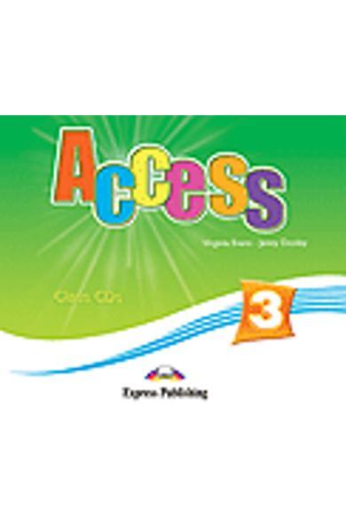 Curs limba engleză Access 3 Audio CD (set 4 CD)