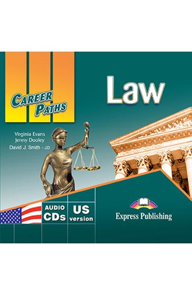 Curs limba engleză Career Paths Law - Audio-CD (set de 2 CD-uri)