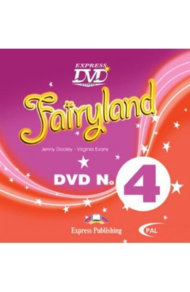 Curs limba engleza Fairyland 4 DVD