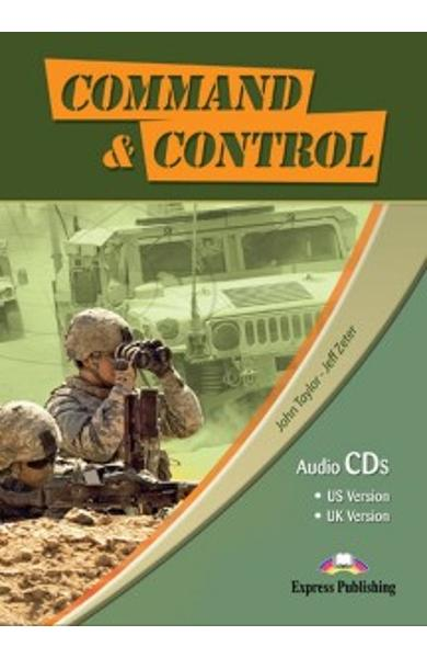 Curs limba engleză Career Paths Command & Control - Audio-CD (set de 4 CD-uri) 978-0-85777-507-8