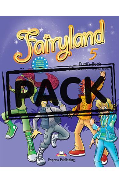 Curs limba engleză Fairyland 5 Pachetul elevului cu MULTI-ROM