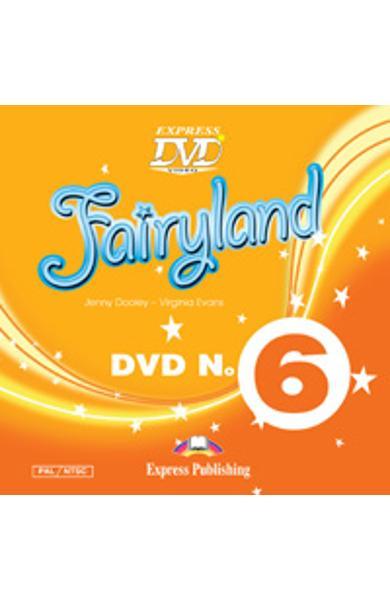 Curs limba engleza Fairyland 6 DVD