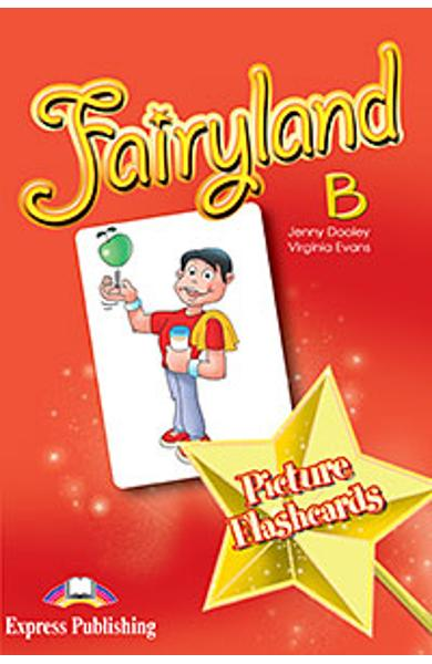Curs limba engleza Fairyland 4 Picture Flashcards set B