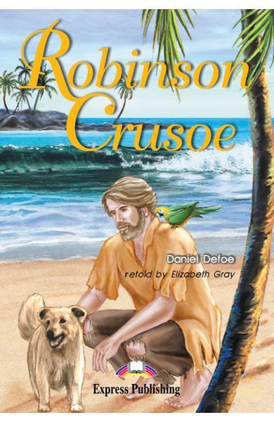 LITERATURA ADAPTATA PT. COPII ROBINSON CRUSOE 978-1-84216-795-3