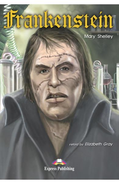 Literatură adaptată pentru copii Frankenstein 978-1-84216-376-4