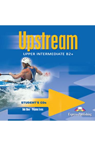 Curs limba engleza Upstream Upper Intermediate Audio CD Elev (set 2 CD-uri ) editie veche 978-1-84466-359-0