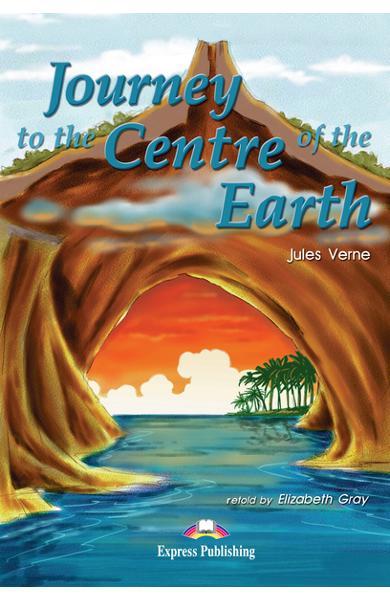 LITERATURA ADAPTATA PT. COPII JOURNEY TO THE CENTRE OF THE EARTH PACHET ELEV ( CARTE + AUDIO CD + CAIET DE ACTIVITATI ) 978-1-84216-178-4