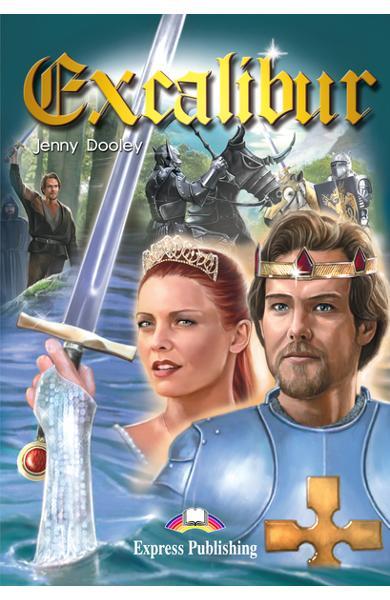 Literatură adaptată pentru copii Excalibur 978-1-84216-850-9