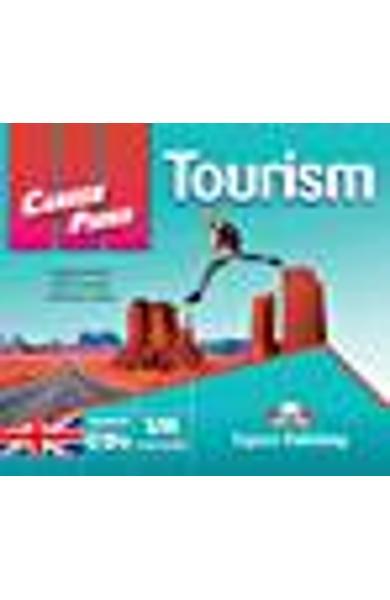 Curs limba engleză Career Paths Tourism - Audio-CD (set de 2 CD-uri)