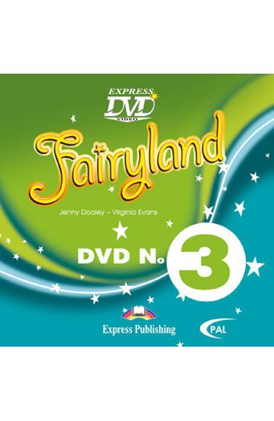 Curs limba engleză Fairyland 3 DVD