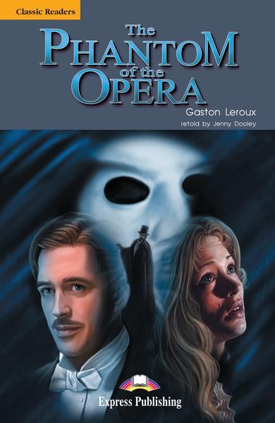 Literatură adaptată pt. the phantom of the opera (set cu cd)