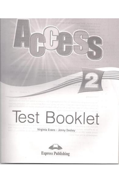 Curs limba engleză Access 2 Teste
